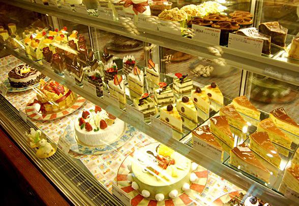 蛋糕陈列柜